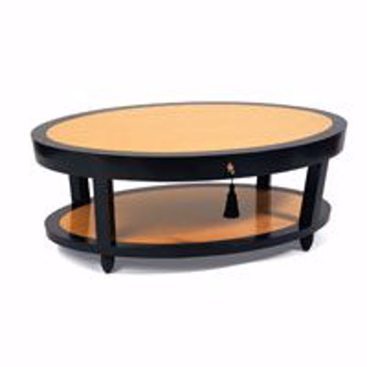 Picture of DEMILLE COFFEE TABLE - OVAL