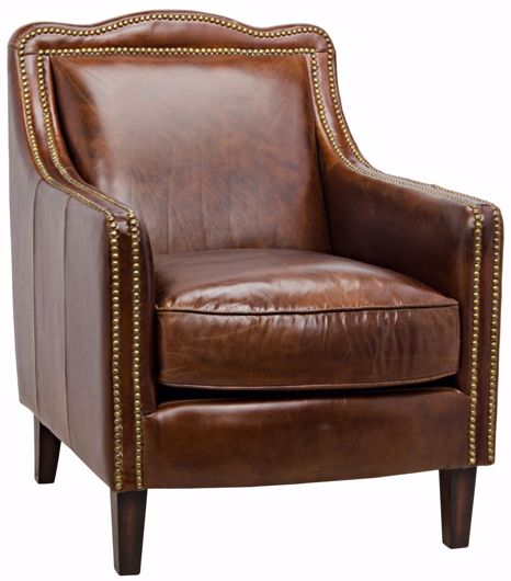 Picture of 973 CLUB CHAIR, VINTAGE LEATHER