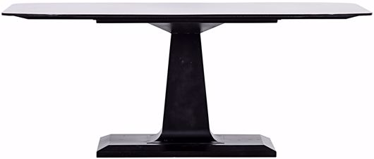 Picture of AMBOSS DINING TABLE, BLACK METAL