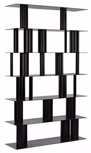 Picture of BECK BOOKCASE, BLACK STEEL